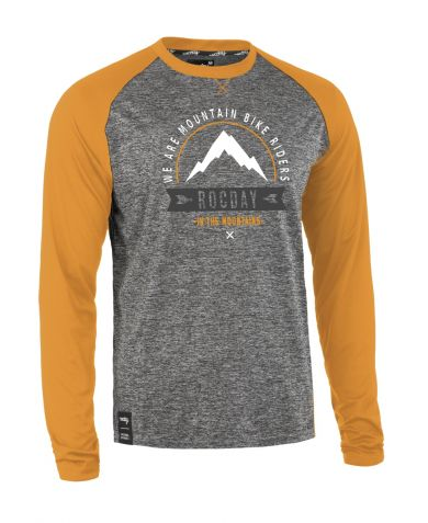 ElementStore - jersey - mount melange yellow