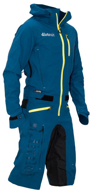 Dirtsuit classic edition blue green