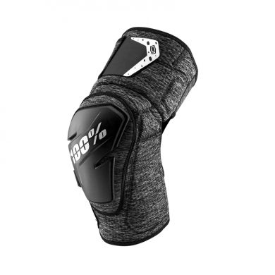 ElementStore - fortis-knee-guard-grey-heather-black