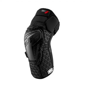 100% SURPASS KNEE GUARD BLACK