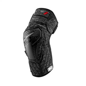 100% SURPASS KNEE GUARD CHARCOAL HEATHER