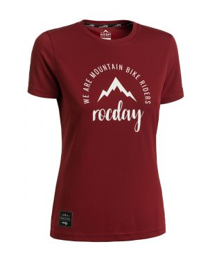 Dámský dres na kolo Monty DARK RED