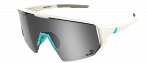 Melon Alleycat - White / Turquoise Highlights / Silver