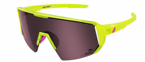 Melon Alleycat - Neon Yellow / Neon Pink Highlights / Amber
