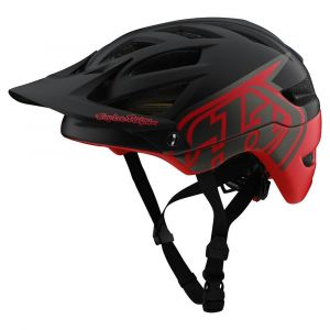TLD A1 Mips Helma - Classic Black/Red