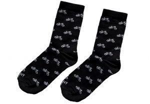Černé ponožky - kola