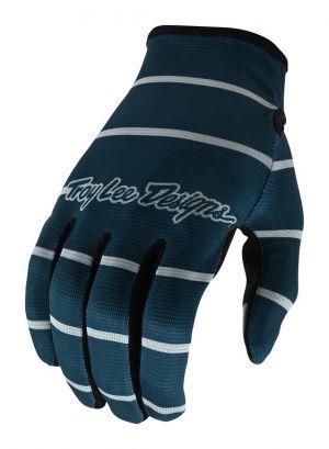 Rukavice TLD Flowline - Stripe Blue Gray