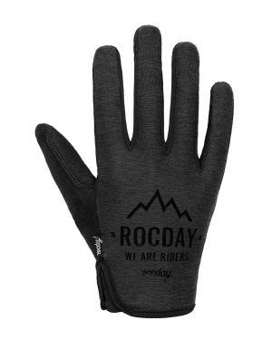 Rukavice na kolo Rocday FLOW Black