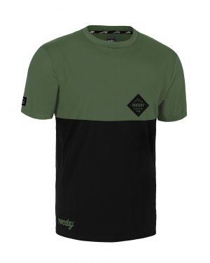 Dres na kolo Rocday Double Green/Black