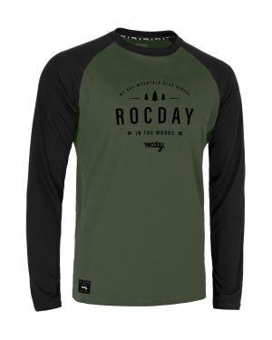 Dres na kolo Rocday Patrol Black/Green