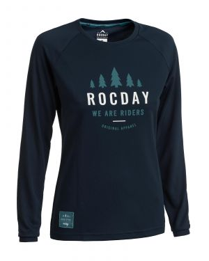 Dámský dres na kolo Rocday Patrol WMS Navy