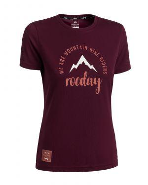 Dámský dres na kolo Rocday Monty WMS Burgundy