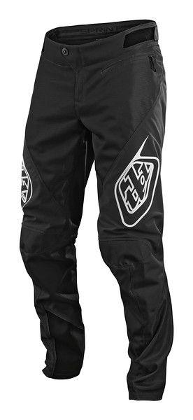 Sjezdové kalhoty TLD Sprint Black