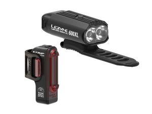 Přední a zadní světlo Lezyne Micro Drive 600XL / Strip Drive Black
