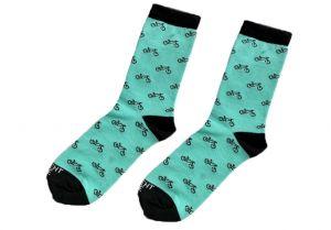 Tyrkysové ponožky - Kola