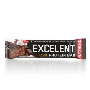Proteinová tyčinka Nutrend Excellent 85g - Čokoláda s kokosem v mléčné čokoládě