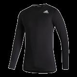 Funkční Triko Adidas Techfit Compression Dlouhý rukáv- Black