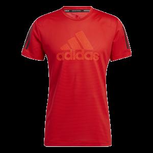 Funkční triko Adidas Aeroready Warrior - Vivid Red