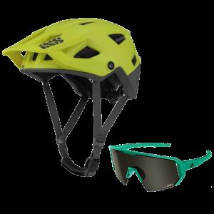 iXS helma Trigger + brýle Melon