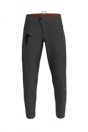 Kalhoty ROC LONG - BLACK MELANGE